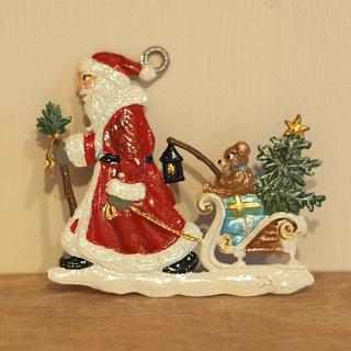【クリスマス】WSすず細工 サンタとくまのそり