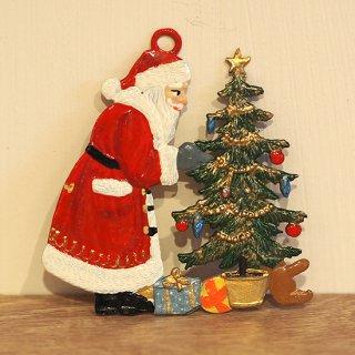 【クリスマス】WSすず細工 サンタとクリスマスツリー