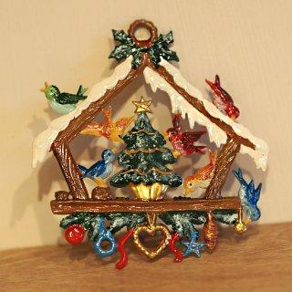 【クリスマス】WSすず細工 小鳥のリース