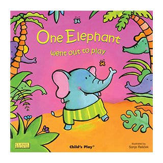 お歌の絵本 One Elephant Went Out to Play