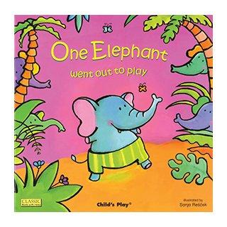 お歌の絵本 One Elephant Went Out to Play