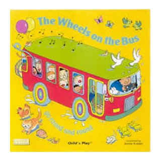 お歌の絵本 The Wheels on the Bus