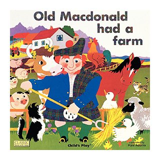 お歌の絵本 Old Macdonald had a Farm