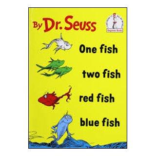 フォニックス絵本 One Fish, Two Fish, Red Fish, Blue Fish - CD付き