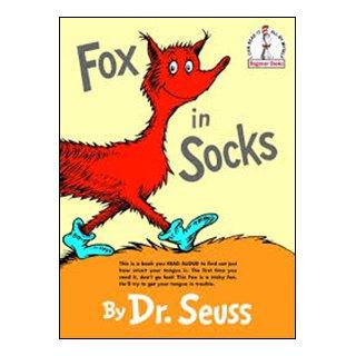 フォニックス絵本 Fox in Socks & CD