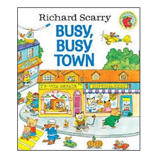 <img class='new_mark_img1' src='https://img.shop-pro.jp/img/new/icons61.gif' style='border:none;display:inline;margin:0px;padding:0px;width:auto;' />Richard Scarry's Busy, Busy Town