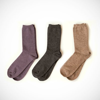 <img class='new_mark_img1' src='//img.shop-pro.jp/img/new/icons41.gif' style='border:none;display:inline;margin:0px;padding:0px;width:auto;' />Cotton&Wool Socks(25〜27cm)YUiNO