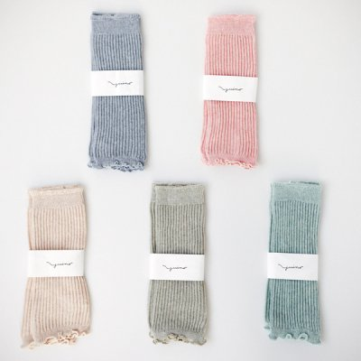 <img class='new_mark_img1' src='//img.shop-pro.jp/img/new/icons30.gif' style='border:none;display:inline;margin:0px;padding:0px;width:auto;' />Organic cotton botanical dye Leg Warmers for Baby YUiNO
