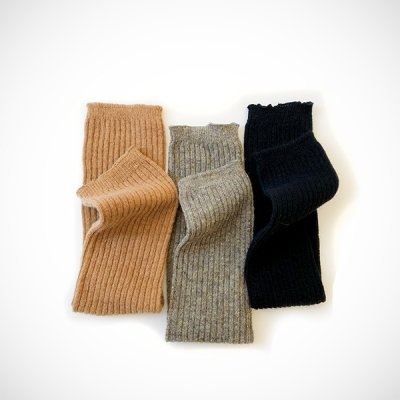 Angora mix wool Leg&Arm warmers -YUiNO-