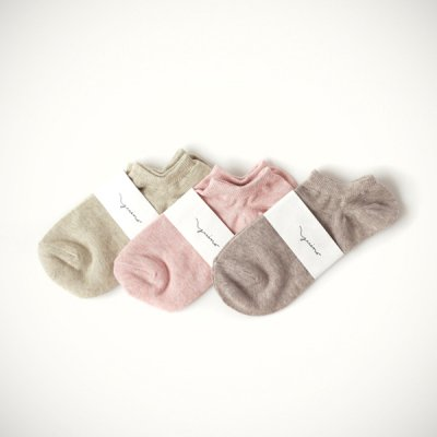 Organic Cotton Cover Socks -YUiNO-