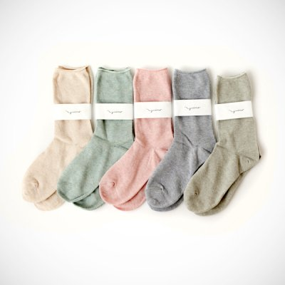 Organic cotton botanical dye Socks(22〜24cm)YUiNO
