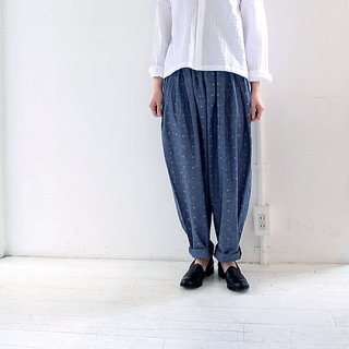 Original Chambray Pleats Pants  YUiNO