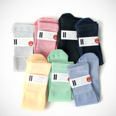 Cotton short Socks (Size free)  -つつした-