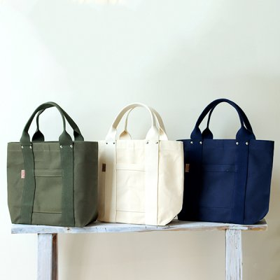 THREAD-LINE Heavy Canvas Tote Bag (M) -松野屋-