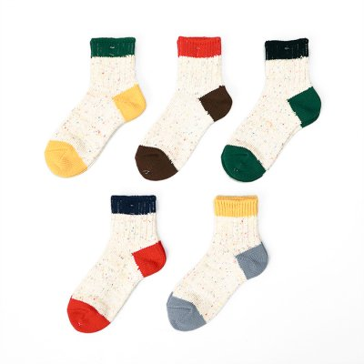 Color nep Socks (23〜25cm) -Mauna Kea-