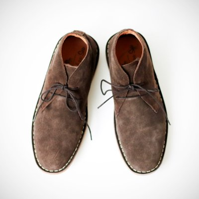 <img class='new_mark_img1' src='https://img.shop-pro.jp/img/new/icons41.gif' style='border:none;display:inline;margin:0px;padding:0px;width:auto;' />【50%off】Suede Desert Boots -SOUTHEND ON SEA-