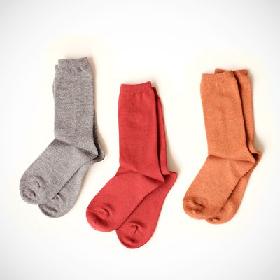 <img class='new_mark_img1' src='//img.shop-pro.jp/img/new/icons41.gif' style='border:none;display:inline;margin:0px;padding:0px;width:auto;' />【40%OFF】Cotton&Wool Socks(25〜27cm)YUiNO