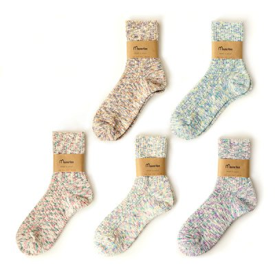 Mix Ripple Socks (23〜25cm) -Mauna Kea-
