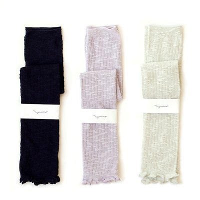 Cotton Slab Mix Arm Cover -YUiNO-