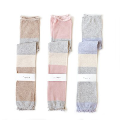 Cotton Border Leg&Arm Cover -YUiNO-
