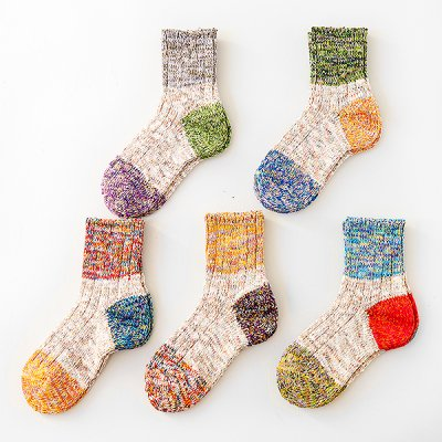 3 Point Switch Top Yean Socks (23〜25cm) -Mauna Kea-