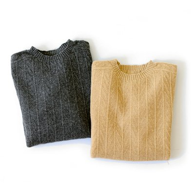 Wholegarment Wool Knit Wear  -YUiNO-
