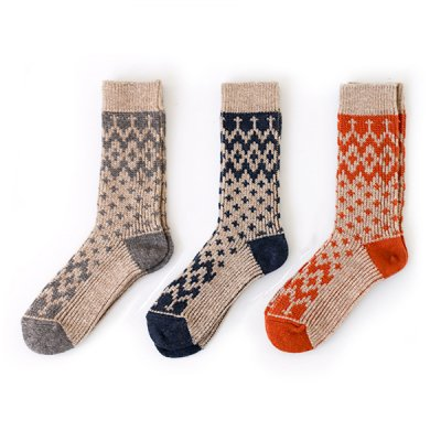 <img class='new_mark_img1' src='//img.shop-pro.jp/img/new/icons14.gif' style='border:none;display:inline;margin:0px;padding:0px;width:auto;' />Nordic Washable Wool  Socks(22〜24cm)YUiNO