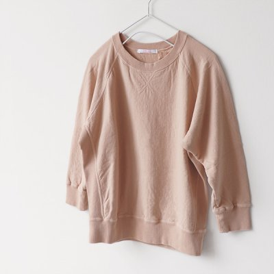 9分袖 Wide Sweat -FABRIQUE en planete terre-