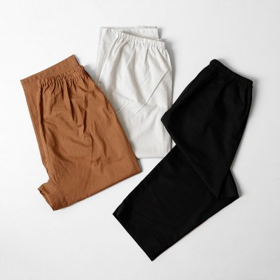 Cotton Loan Washer Pants -YUiNO-