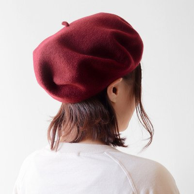 <img class='new_mark_img1' src='https://img.shop-pro.jp/img/new/icons14.gif' style='border:none;display:inline;margin:0px;padding:0px;width:auto;' />Wool Beret Standard -Le Beret Francais-