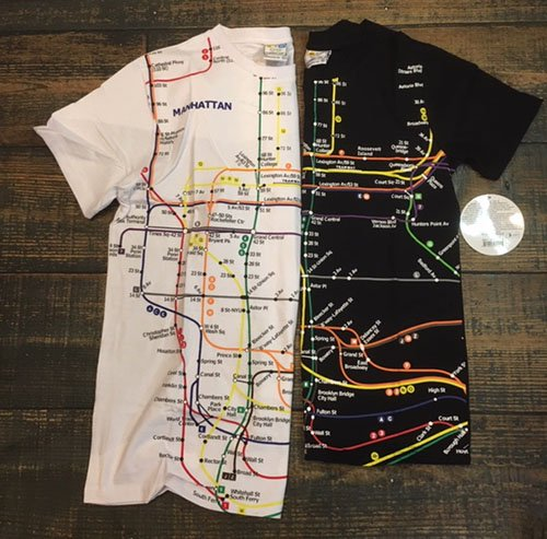 Nyc Subway Map T Shirt.Adult Manhattan Subway Map T Shirt Nyc Subway Line Agreablement アグレアブルモン オンラインショップ