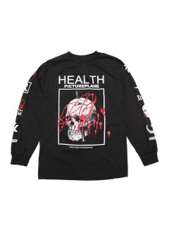 ALIEN BODY HEALTH×PICTUREPLANE LONG SLEEVE TEE