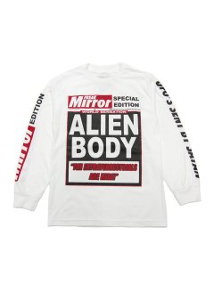 ALIEN BODY FREAK MIRROR LONG SLEEVE TEE
