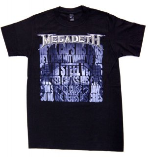 MEGADETH LYRICS