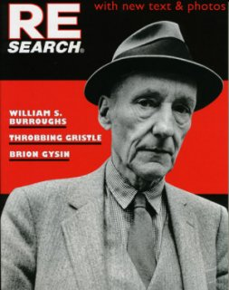 RE/SEARCH / #4/5 W.S. BURROUGHS B . GYSIN THROBBING GRISTLE BOOK
