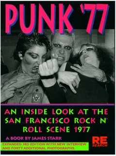 RE/SEARCH / PUNK'77 BOOK