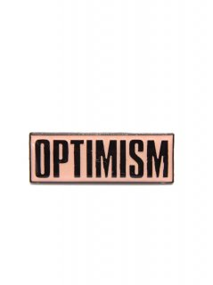 MATTHEW STONE / OPTIMISM ENAMEL PIN