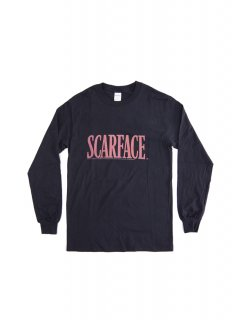 SCARFACE / LOGO MENS L/S