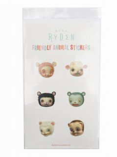 MARK RYDEN THE SNOW YAK SHOW FRIENDLY ANIMALS STICKER