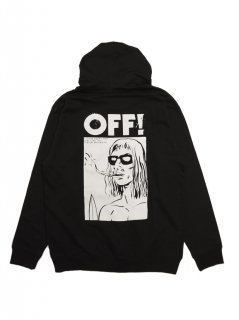 OFF!  / SURFER BOYFRIEND ZIP UP HOODIE