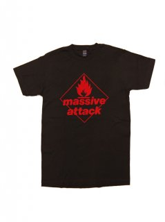 MASSIVE ATTACK / BLUE LINES BLK  XXL