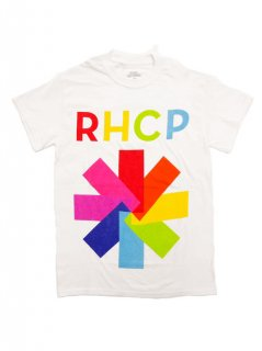 RED HOT CHILI PEPPERS / COLOR BLOCK ASTERISK