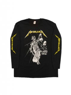 METALLICA / AND JUSTICE FOR ALL TRACKS LS(2XLサイズ)