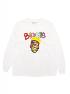 THE NOTORIOUS B.I.G. / COLOR BLOCK CROWN LS