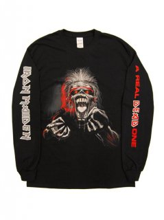 IRON MAIDEN /  A REAL ONE  3 COLOR LS