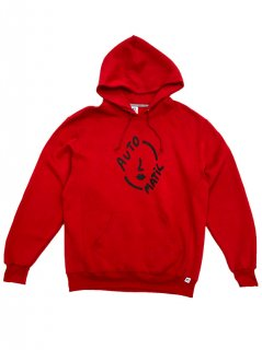 AUTOMATIC / LOGO  HOODIE(RED)