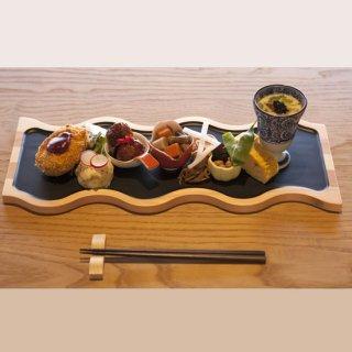 フードプレート konami L・黒/tonono 東濃・岐阜