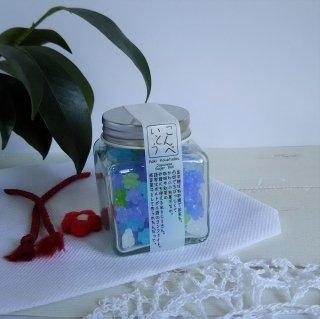 忘れな草2個セット/ 京都のかわいい小瓶入り 金平糖
