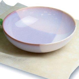 山口・萩焼 ボウル L (pink×purple)/ Shikisai 木箱入り