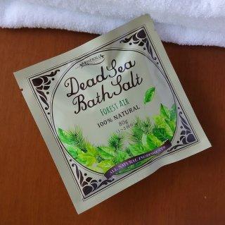 Dead Sea Bath Salt ミネラリア デッドシーバスソルト〈死海の塩〉 フォレストエアー